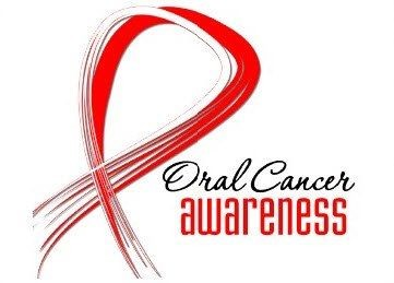 oral cancer month logo