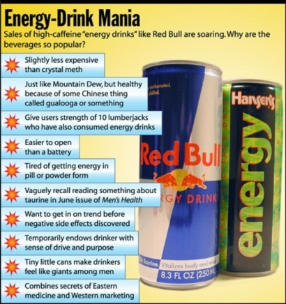 Sandy Springs dentist near me - Energy Drinks