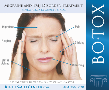 TMJ BOTOX for Migraines in Chamblee