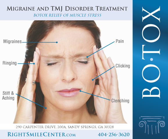 TMJ and migraine BOTOX Treatment